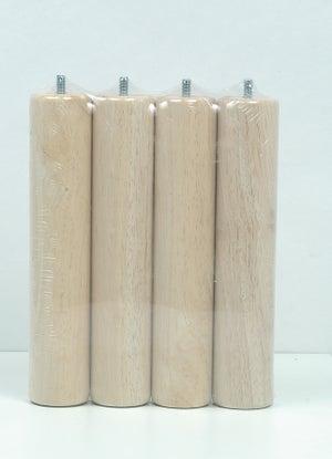 Pied De Lit Sommier Cylindrique Réglable Aluminium Chromé Gris De 30 à 32 Cm
