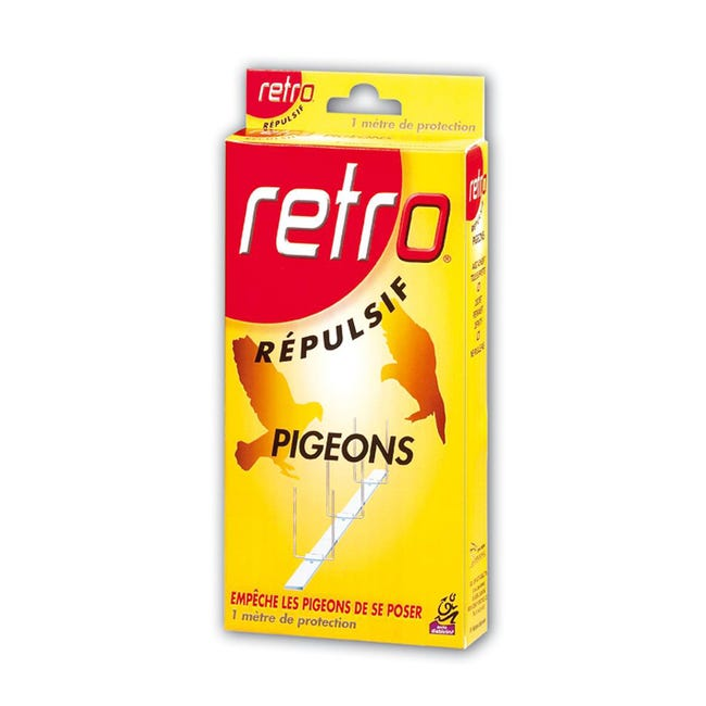 Repulsif Ultrasons Antipigeons Retro 1metre Leroy Merlin