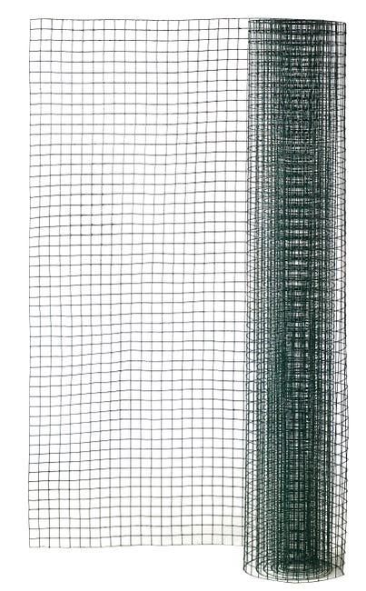Grillage Pour Animaux Soude Vert H 1 X L 3 M Maille H 12 X L 12 7 Mm Leroy Merlin