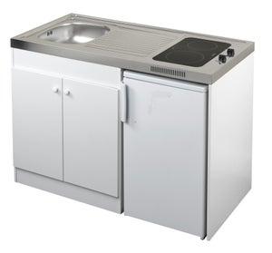Kitchenette Electrique Blanc Spring H 92 5 X L 120 X P 60 Cm Leroy Merlin