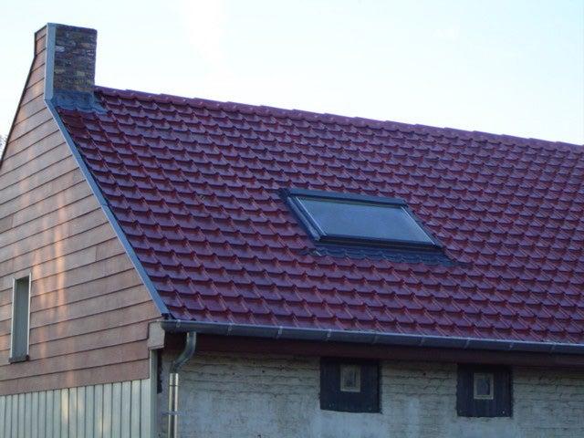 Plaque de toiture imitation tuile composite cendre l.1.07 ...