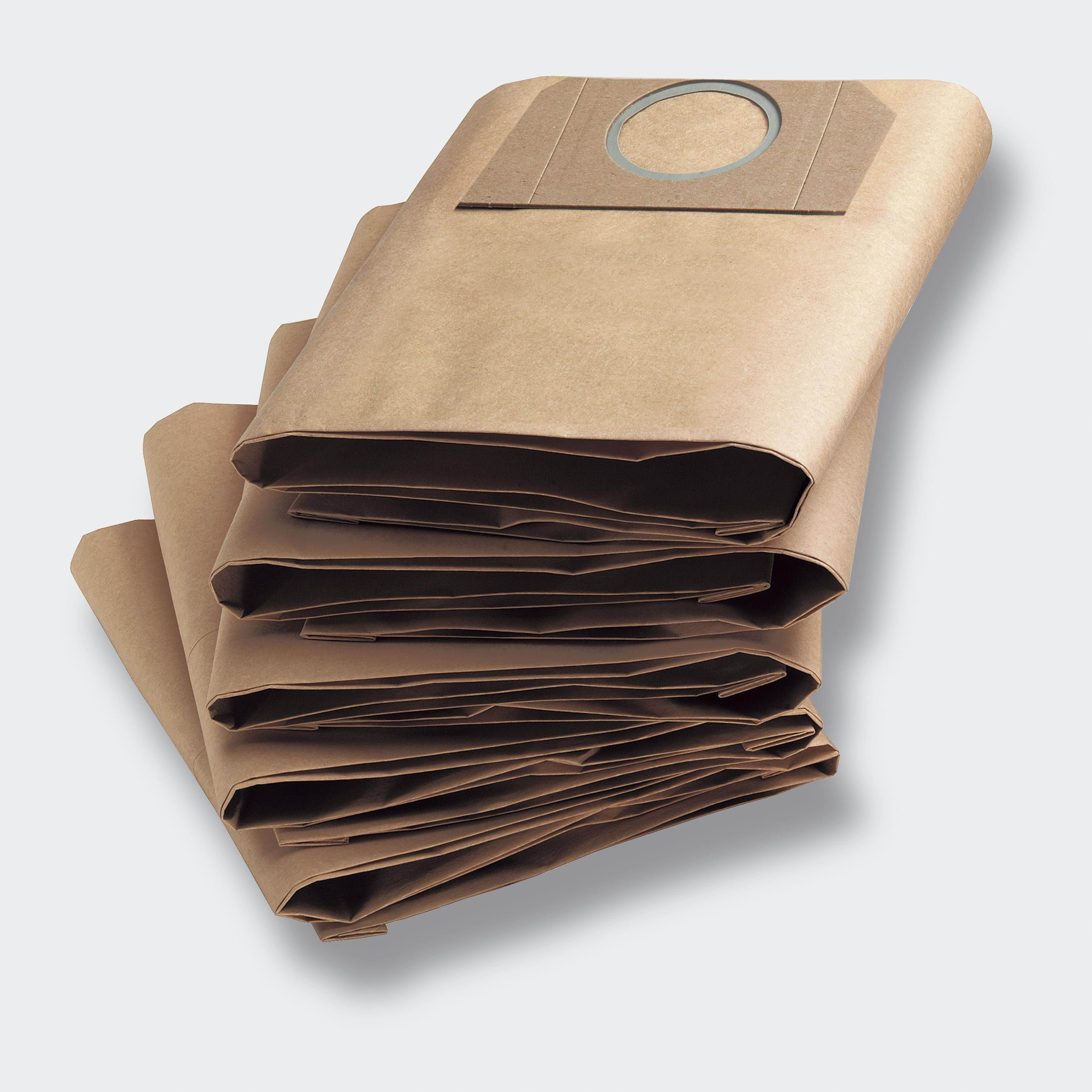 5 sacs aspirateur KARCHER WD 5200M lot de 5 sacs