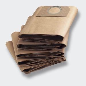 Lot de 5 sachets filtres papier KARCHER