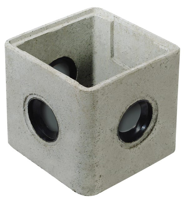 Regard A Joints Incorpores Rmj25 Beton L 250 X L 250 Mm Leroy Merlin