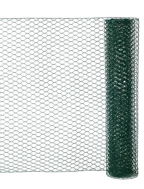 Grillage Pour Animaux Triple Torsion Vert H 0 5 X L 2 5 M Maille H 13 X L 13 M Leroy Merlin