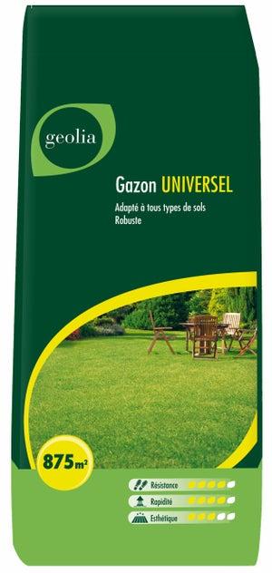 Image : Gazon universel GEOLIA, 25 kg, 875 m²