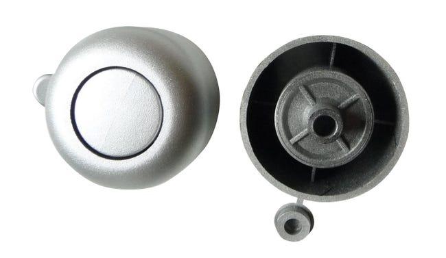 Minipied Et Patin Plastique A Visser Diam 50 X H 27 Mm Leroy Merlin