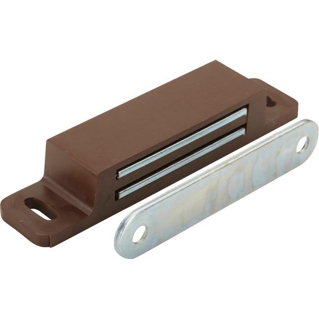 Loqueteau Magnetique Plastique Hettich L 17 3 X L 75 Mm Leroy