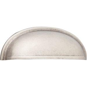 Image : Poignée de meuble Cup acier mat, entraxe 64 mm