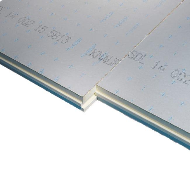Panneau Pour Isolation Polyurethane L 1 X L 1 2 X Ep 94 Mm Rr3 A R5 Leroy Merlin