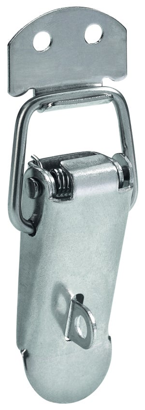 Image : Fermoir à levier acier HETTICH, L.70 x l.21 mm