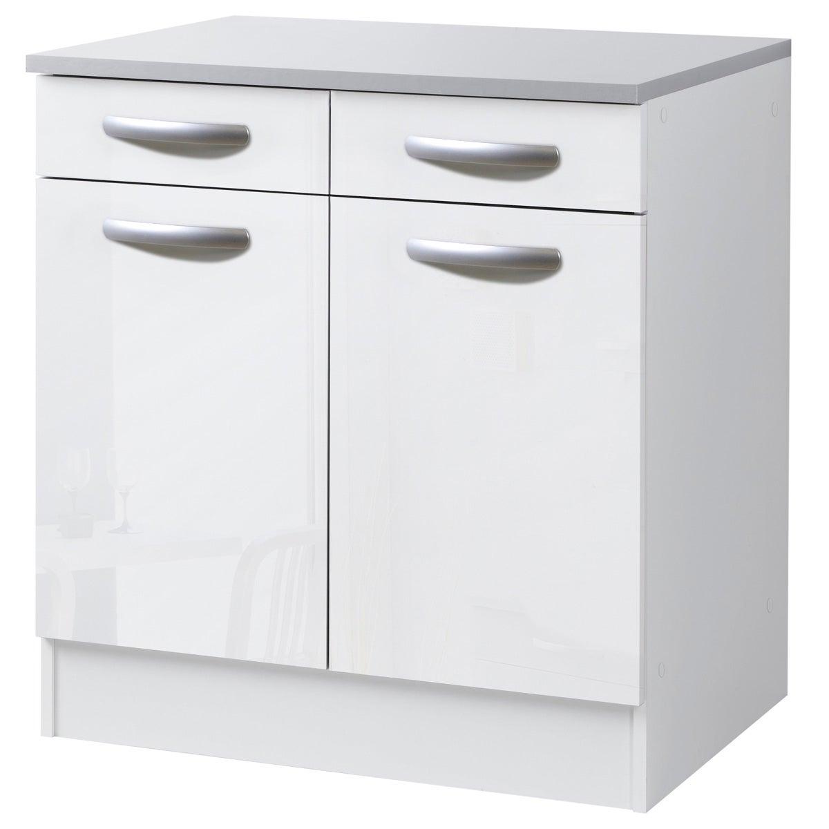 Meuble de cuisine bas 13 portes et 13 tiroirs H.13 x l.13 x P.13 cm
