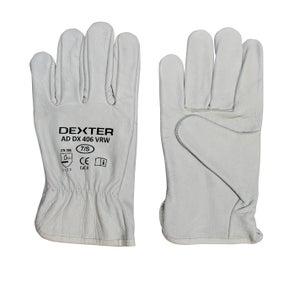 Image : Gants de manutention en cuir DEXTER taille 7 / s
