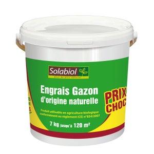 Engrais Gazon Solabiol 10kg Au Meilleur Prix Leroy Merlin