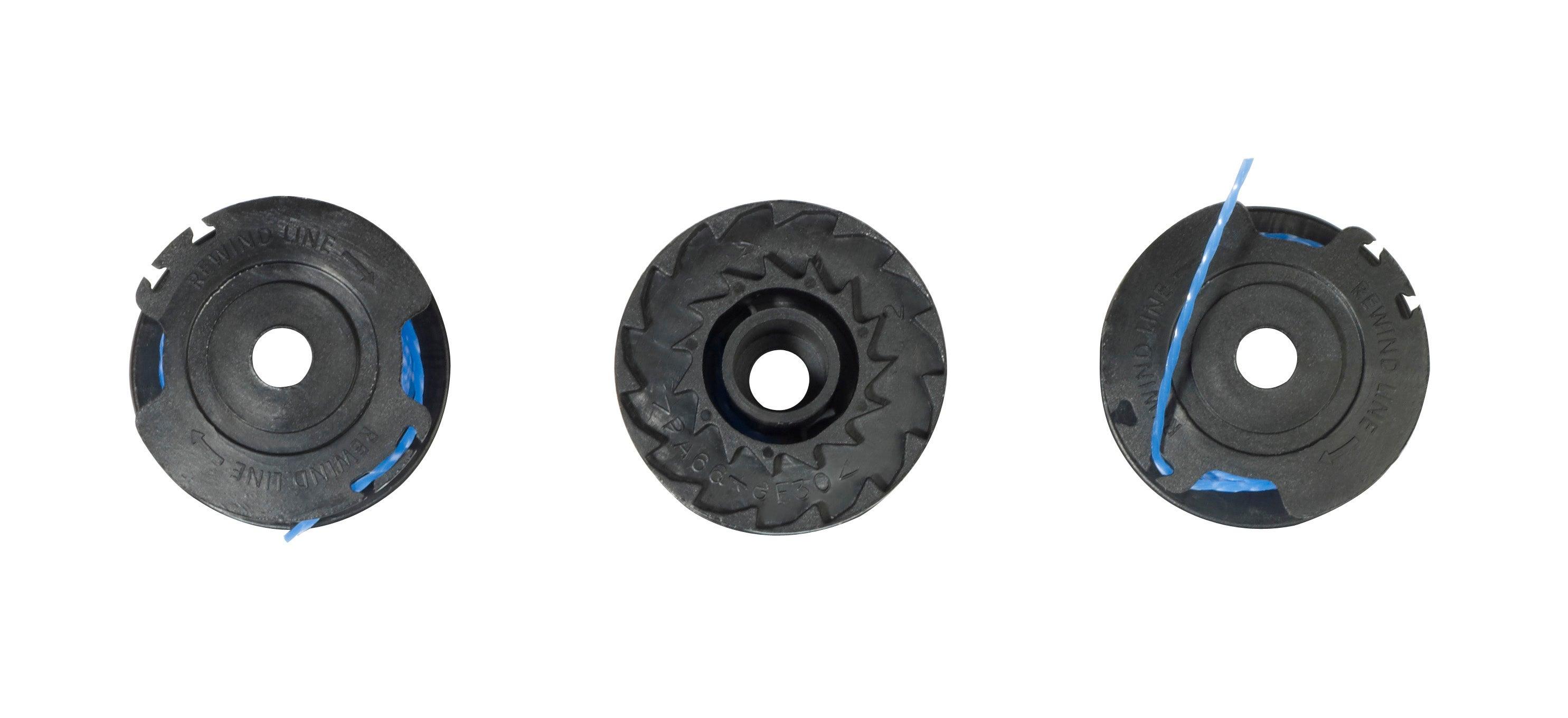 Ryobi 1.6 mm Bobine de rechange et bouchon pour rotofil One RAC124 RLT1830LI OLT1831