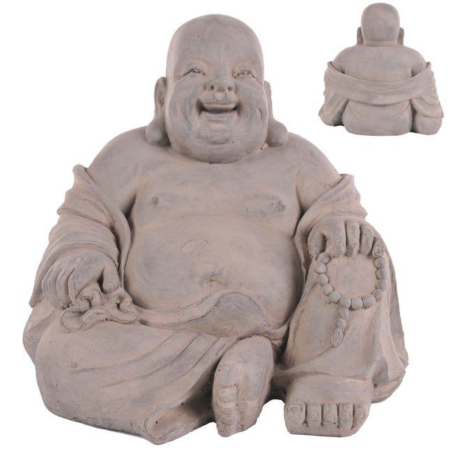 Bouddha Dodu De Jardin H 43 Cm Leroy Merlin