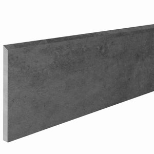 Plinthe, noir Proton x L.0.91 m