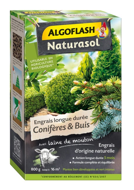 Engrais Coniferes Algoflash 800 G 16 M Leroy Merlin