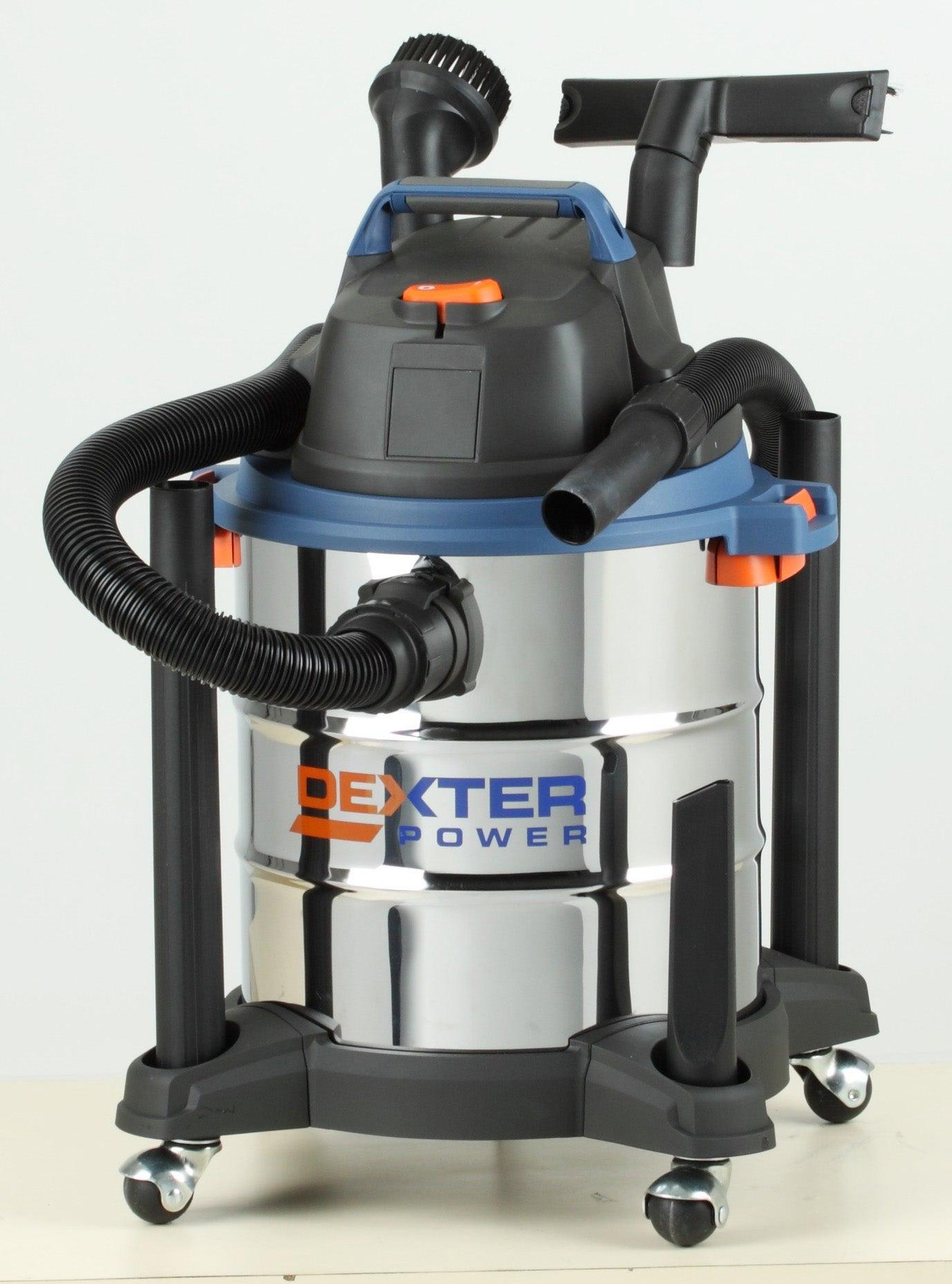 Aspirateur industriel eau et poussières DEXTER POWER, 17 kPa
