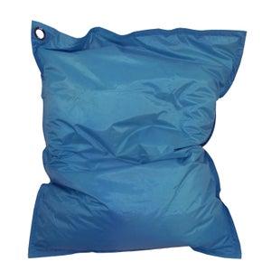Coussin de sol Maxi Bigbag, bleu canard l.110 x H.130 cm