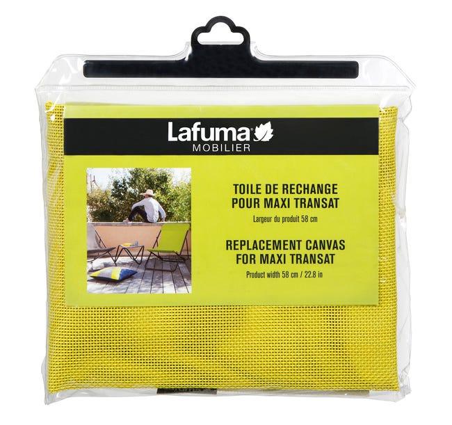 Toile De Rechange Batyline Pour Maxi Transat Jaune Citrus Leroy Merlin