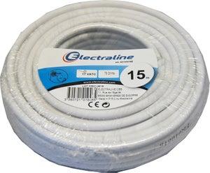 Câble électrique Adsl 2984p Blanc L50 M