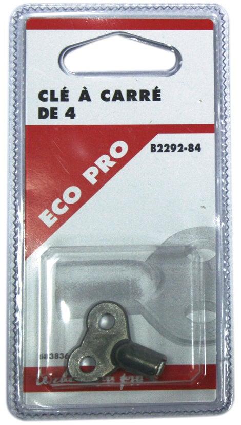 BYMEO Cle Purge Radiateur//Clef Papillon Carre De 4 et 5 mm//Mat/ériel De Qualit/é Professionnel Pour Purgeur Et Vidange Radiateurs De Chauffage//Kit Id/éal De Deux Clefs Extra Compact Passe Partout!