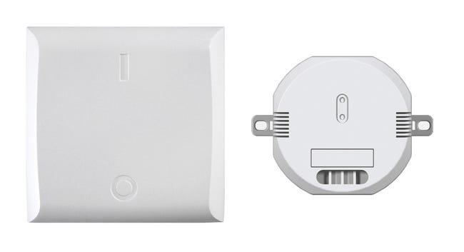 Kit 1 Recepteur Connecte Pour Eclairage Avec Un Interrupteur Connecte Dio Leroy Merlin