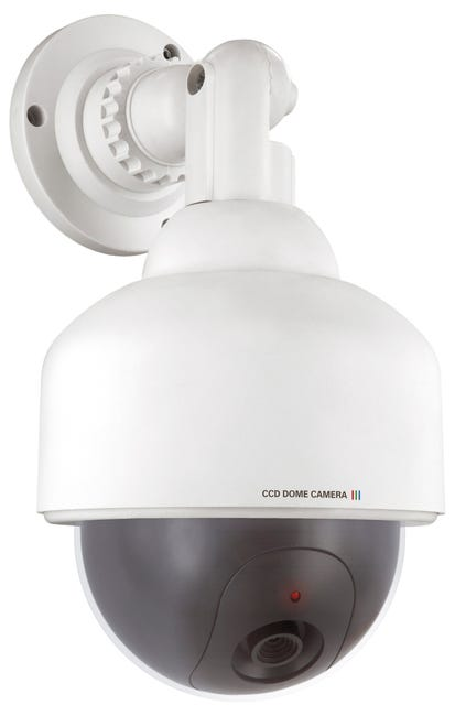Camera Factice Avec Led Clignotante Smartwares Cs88dfr Leroy Merlin