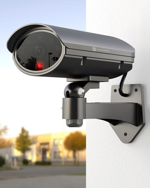 Camera Factice Motorisee Smartwares Cs90d Leroy Merlin