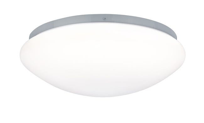 Plafonnier A Detection Leonis Led 1 X 9 5 W Led Integree Blanc Froid Leroy Merlin