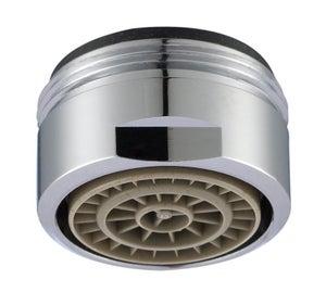 Image : Mousseur lavabo chrome éco d'eau, mâle, EQUATION