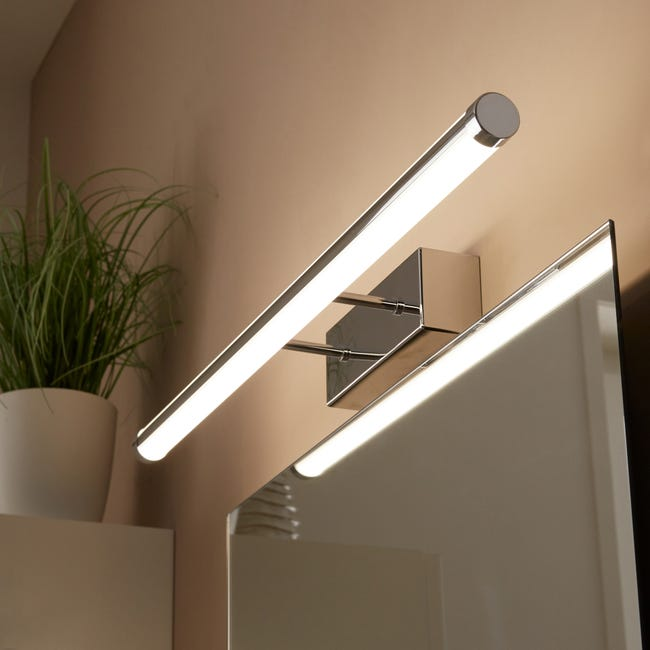 Applique Up Down Led 1 X 25 W Led Integree Blanc Froid Leroy Merlin