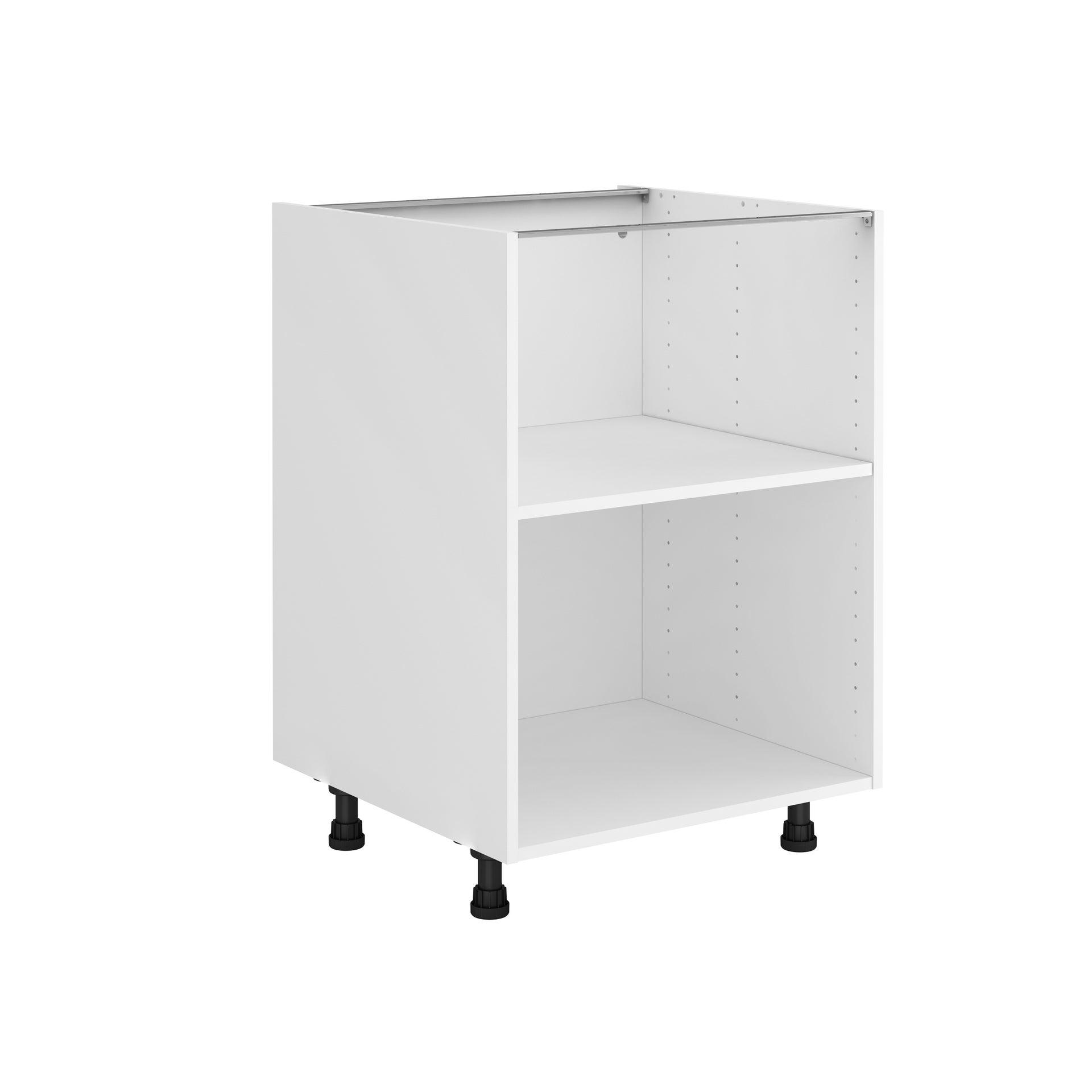 Caisson de cuisine bas DELINIA ID, blanc H.12.12 x l.12 x P.512 cm