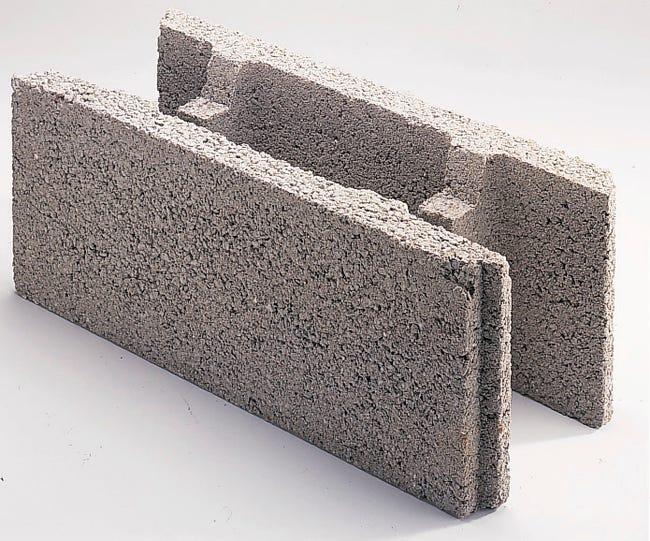 Bloc A Bancher Beton P 50 X H 20 X Ep 27 5 Cm Leroy Merlin