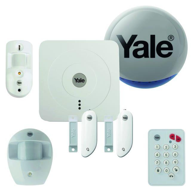 Alarme Maison Sans Fil Yale Connectee Pack Dissuasion Sr 3200i Leroy Merlin