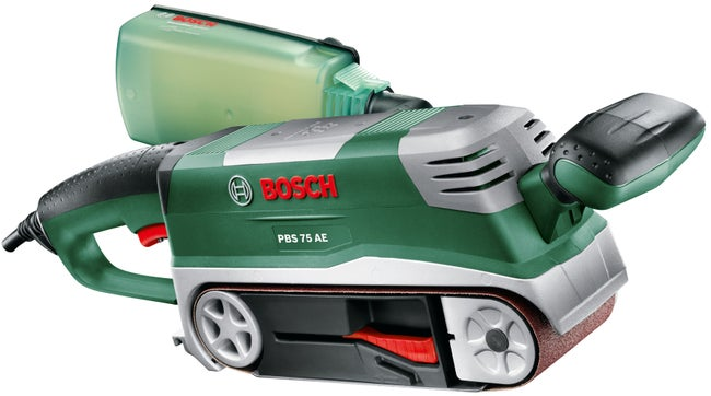 Ponceuse à Bande Filaire Bosch Pbs 75 Ae 750 W Leroy Merlin