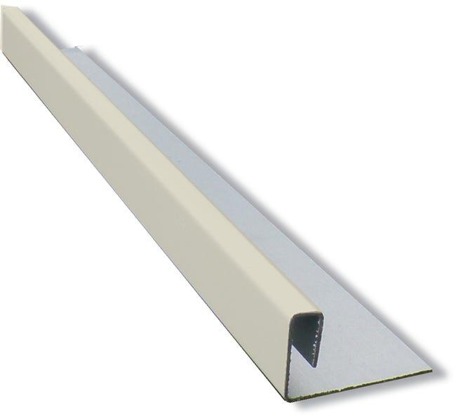 Profil Multifonction Aluminium 2 X 4 5 Eternit Calliclad Ivoire 3 M Leroy Merlin