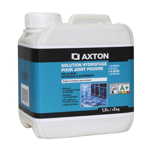 Solution Hydrofuge Pour Carrelage Et Mosaique Axton Blanc 1 5 L Leroy Merlin