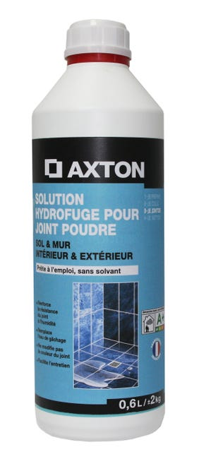 Solution Hydrofuge Tout Type De Carrelage Et Mosaique Axton Incolore 0 6 L Leroy Merlin