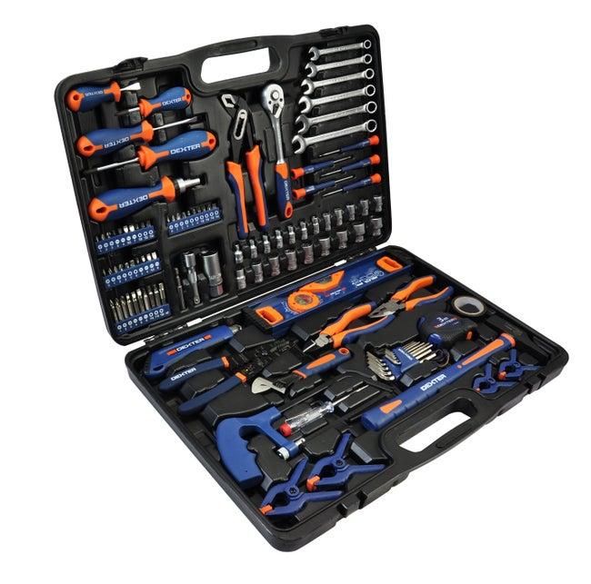 Kit d'outils 108 pièces pièces DEXTER
