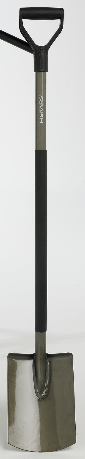 Image : Bêche acier FISKARS manche acier L.125 cm