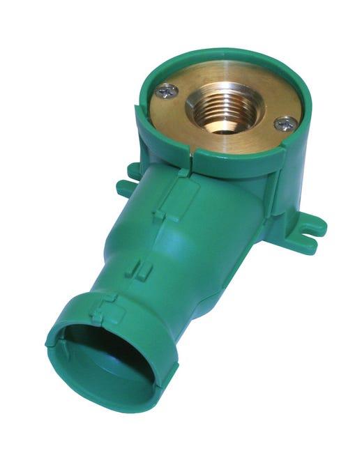 Sortie De Cloison Femelle A Compression Pour Tube Per Diam 16 Mm 15 X 21 Mm Leroy Merlin