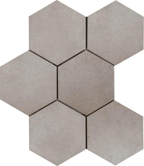 Carrelage Sol Et Mur Intenso Beton Gris Ciment Time L 21 X L 18 Cm Leroy Merlin