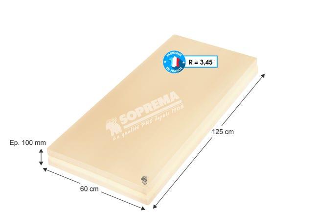 Panneau En Polystyrene Extrude Xps Pro Soprema 1 25x0 6m Ep 100mm R 3 45 Leroy Merlin