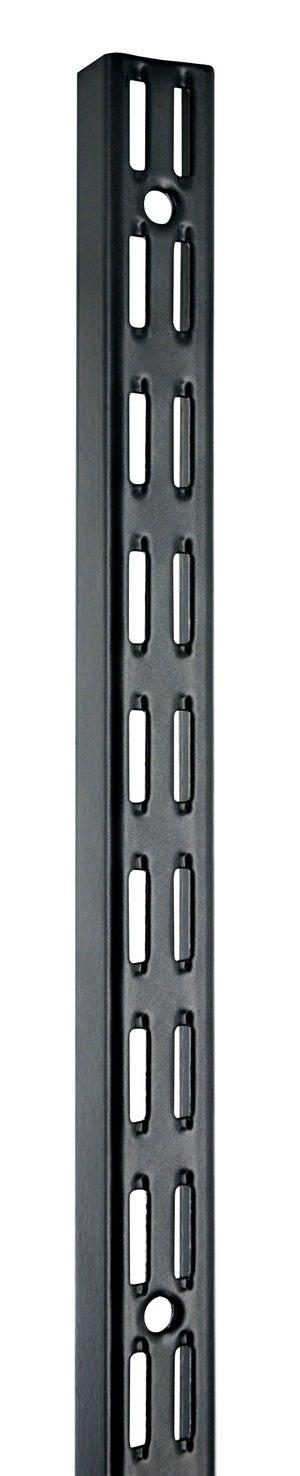 Crémaillère double acier, H.200 cm entraxe 32 mm