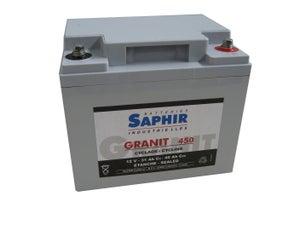 Image : Batterie granit 45 Ah