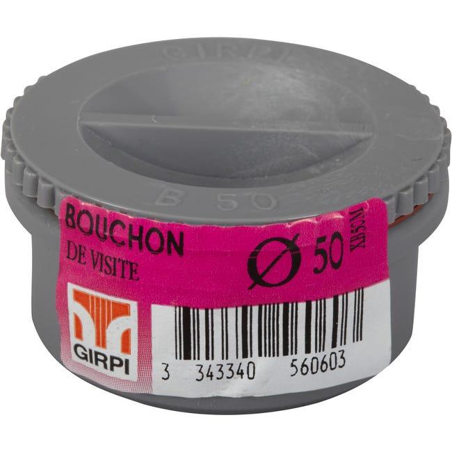 Bouchon En Pvc A Coller Male D 50 Leroy Merlin