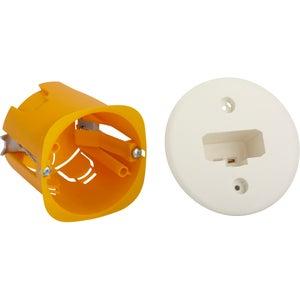 Image : Boîte d'encastrement DCL pour applique, cloison creuse 1 poste(s), DEBFLEX