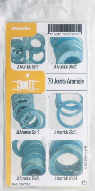 Lot De 15 Joints Aramide Comap Leroy Merlin